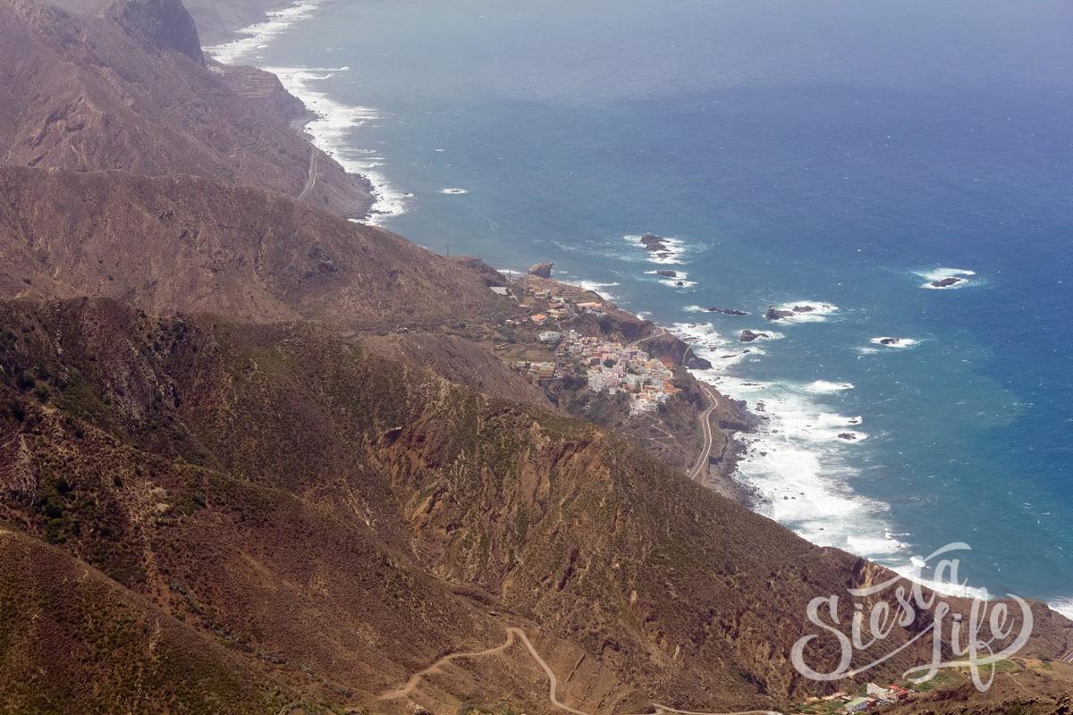 Анага: береговая линия Тенерифе