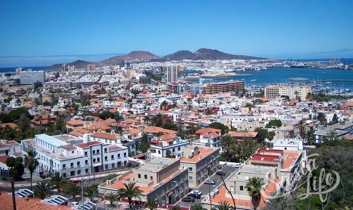 Лас-Пальмас-де-Гран-Канария — столица острова Гран-Канария
