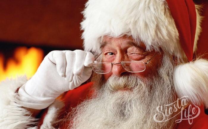 испанский дед мороз санта клаус папа ноэль