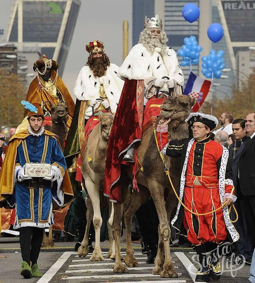 Каспар, Мельхиор и Бальтазар три царя три короля короли-маги новый год в испании