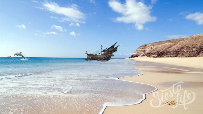 Песчаные пляжи Фуэртевентура