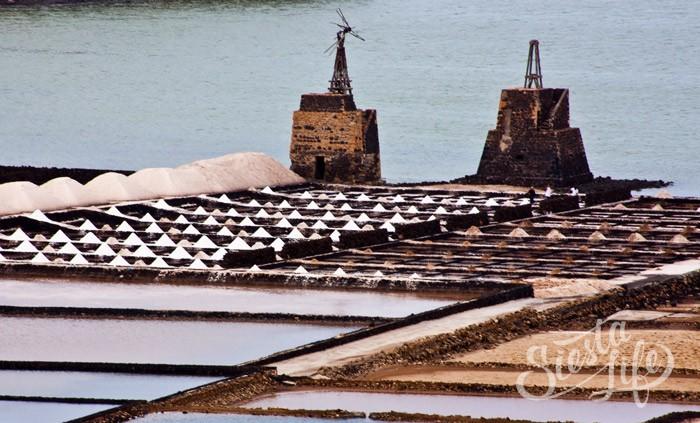 соляные копи «Salinas de Janubio»