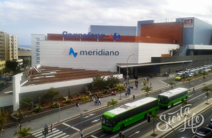Меридиано (Centro Comersial Meridiano) — классический ТЦ с кинотеатром