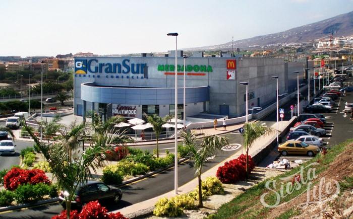Гран Сур — классический торговый центр