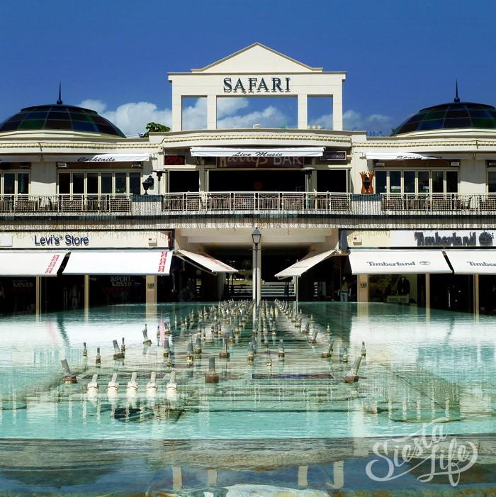 Торговый центр Сафари на Золотой миле в Лас Америкас