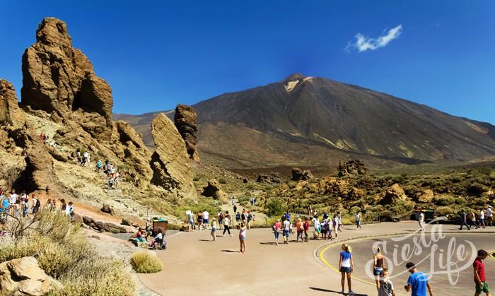 ЛосРокесде Гарсиа (исп. Roques de García) представляют собой скалы очень интересной и необычной формы.