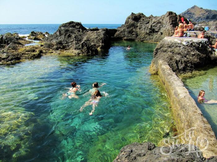 Натуральные бассейны Эль-Калетон в Гарачико на Тенерифе