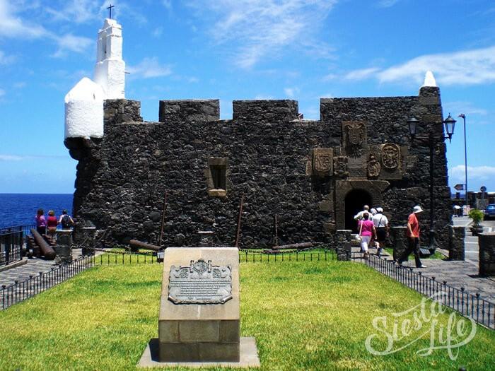 Крепость Сан Мигель в Гарачико