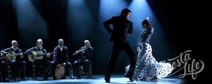 Фламенко в сопровождении музыкантов
