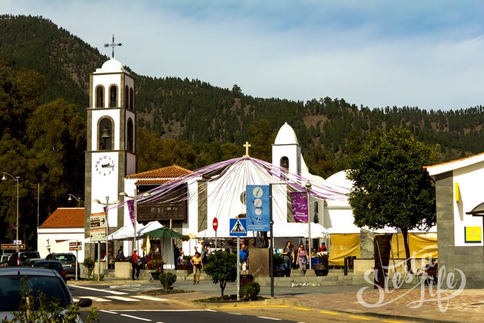 церковь в сантьяго-дель-Тейде на Тенерифе