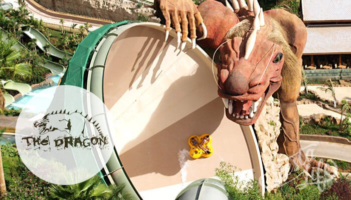 Dragon в Сиам Парке на Тенерифе