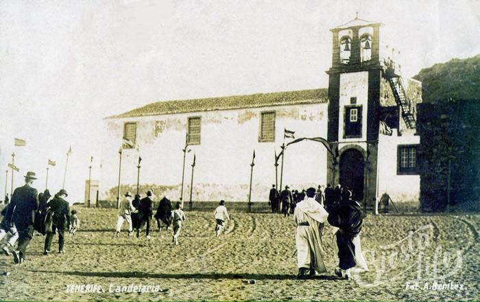 Старая часовня в Канделарии