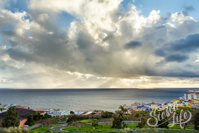 Красивые облака Тенерифе