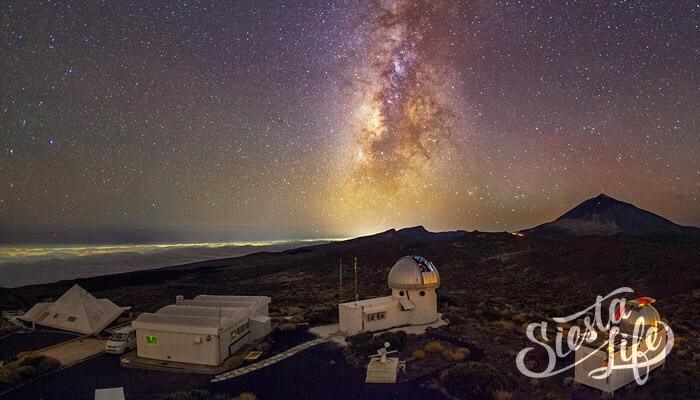 Экскурсия в обсерваторию Тейде