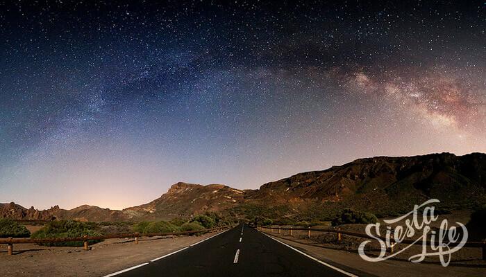 Млечный путь над Тенерифе