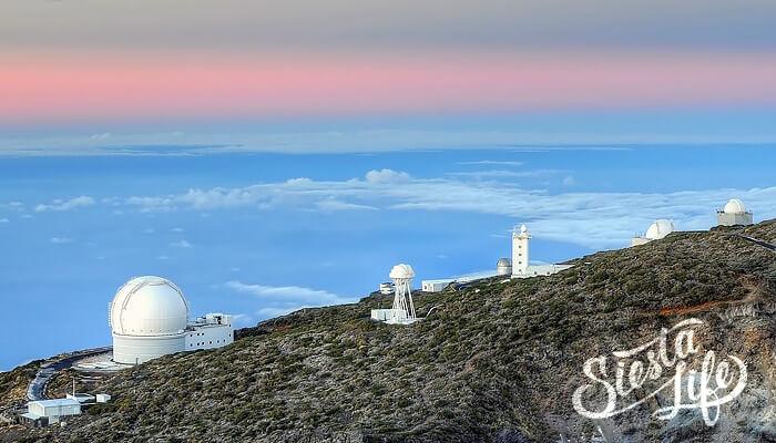 Обсерватория Роке де Лос Мучачос на Ла пальма