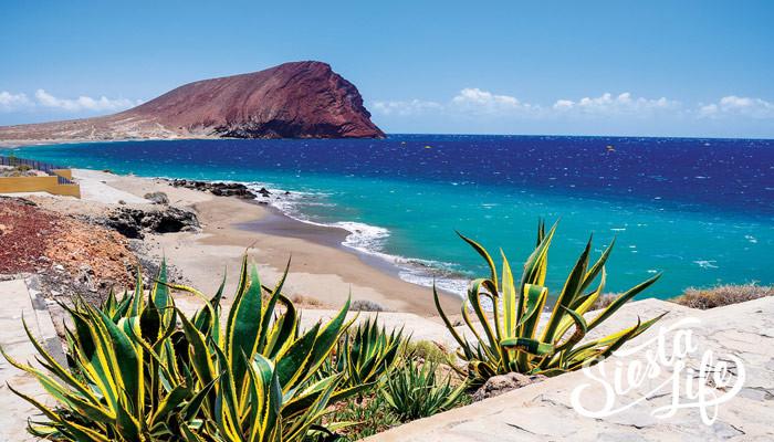 Пляж Ла Техита на острове Тенерифе