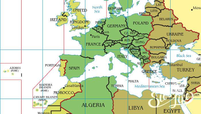 Часовой пояс Испании