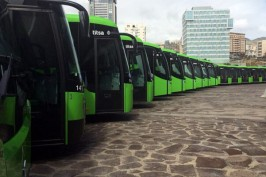 Транспорт на Тенерифе автобусы