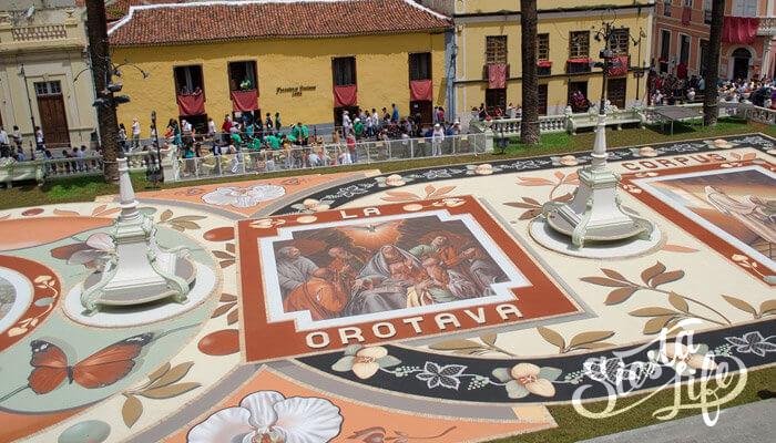 День ковров в Ла-Оротава