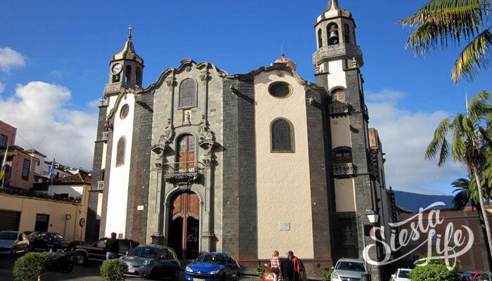 Церковь в Ла-Оротава