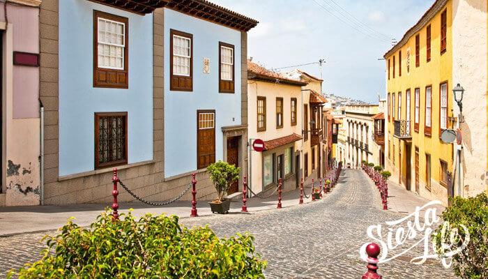 Улицы Ла Оротава Тенерифе