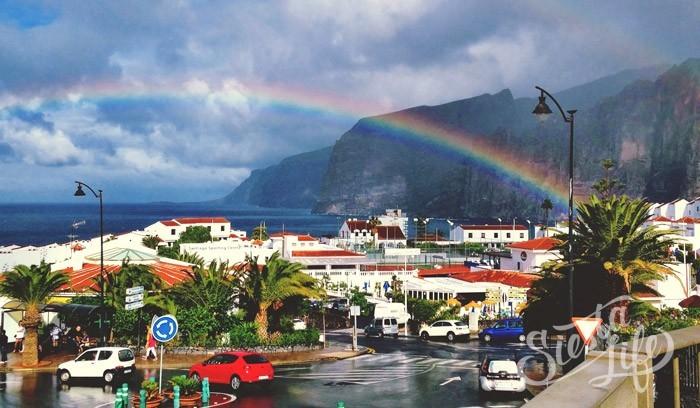 Погода на Тенерифе, радуга