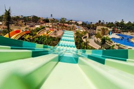 Twister race в Акваленде на Тенерифе