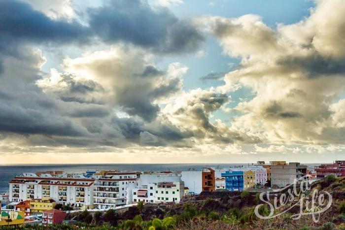 Красивое небо Тенерифе