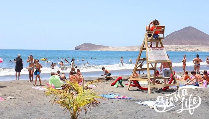 Пляжи юго-востока Тенерифе